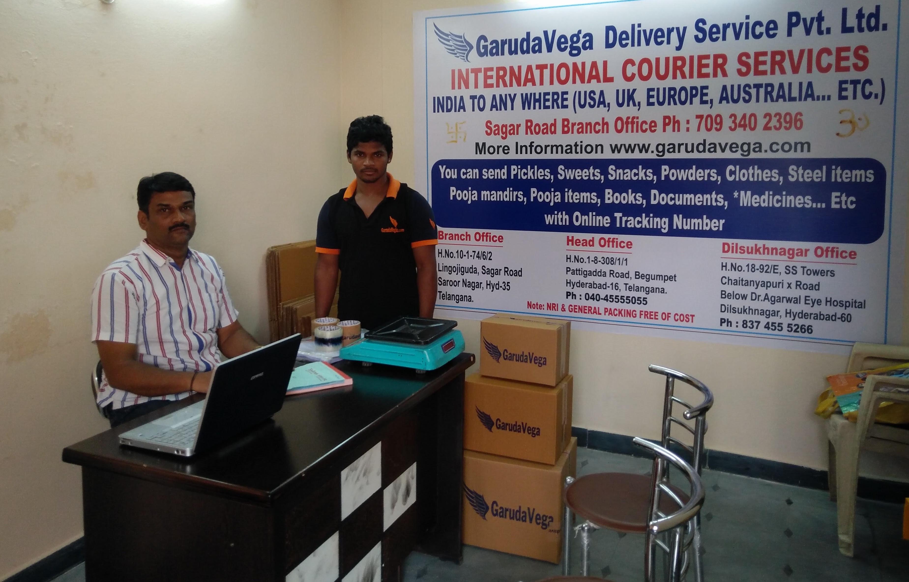 Karmanghat - Sagar Road - Garudavega Courier Services